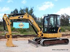 2008 CATERPILLAR 305D CR MINI EXCAVATOR- EXCAVATOR- CATERPILLAR- CAT- 28 PICS