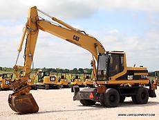 1998 CATERPILLAR M318 EXCAVATOR- CRAWLER- CAT- DEERE- CASE- 36 PICS