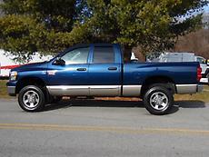 2008 DODGE RAM 2500HD 4 DOOR 4X4 PICKUP TRUCK W/CUMMINS 6.7L TURBO DIESEL