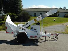 2009 ALTEC WC-126A WOOD CHIPPER FORESTRY ARBORIST
