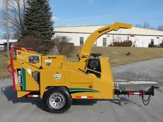 2009 VERMEER BC1000XL WOOD CHIPPER / BRUSH CUTTER FORESTRY ARBORIST (LOW HOURS)