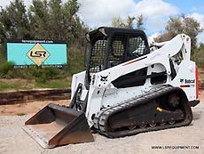 2012 BOBCAT T750 SKID STEER- TRACK SKID STEER- SKID LOADER- BOBCAT- CAT- 24 PICS