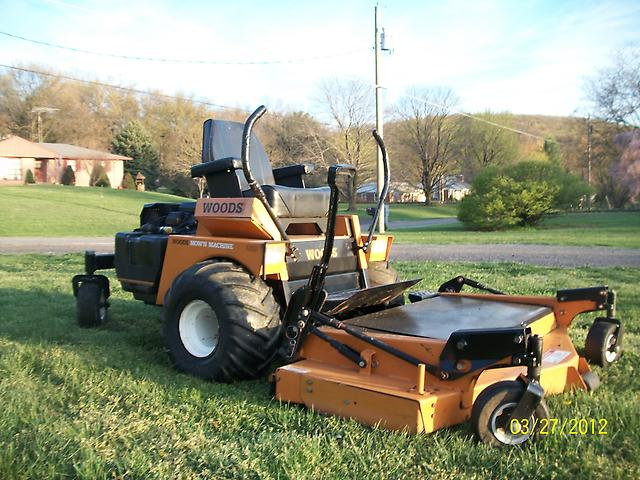 Woods 6200 Mow N Machine Zero Turn Hydrostatic Drive