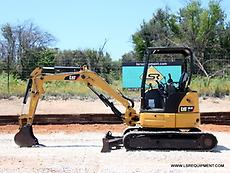 2012 CATERPILLAR 303.5ECR MINI EXCAVATOR- EXCAVATOR- LOADER- CAT- DEERE-28 PICS