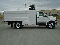 2006 FORD F-650 CHIPPER DUMP TRUCK FORESTRY ARBORIST