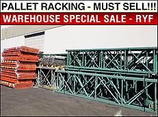 Pallet Racking - Warehouse Relocation