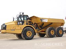 2012 Cat 740B Haul Truck, A02685