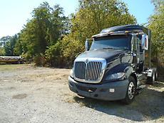 2012 INTERNATIONAL PROSTAR EAGLE + SLEEPER SEMI ROAD TRACTOR (BAD ENGINE)