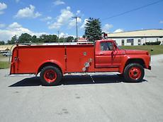 1975 FORD F600 FIRE TRUCK