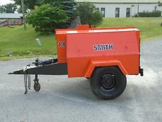 1992 SMITH 100D TOWABLE AIR COMPRESSOR