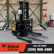Power Steering Walkie Reach Truck Forklift