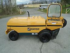 2005 RAYCO RG50 STUMP GRINDER WITH SUPPORT TRAILER