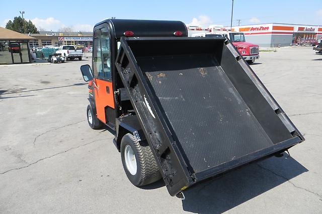 Turf Golf Utility Cart Dump Bed Enclosed Cab Spreader Cushman Truckster