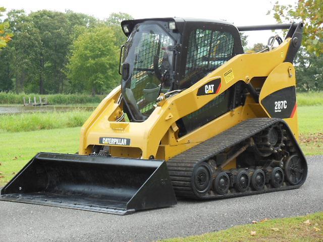 Caterpillar Cat 287c Mtl Skid Steer On Rubber Track Ebay
