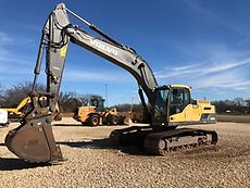 2012 Volvo EC250DL Excavator Track Hoe