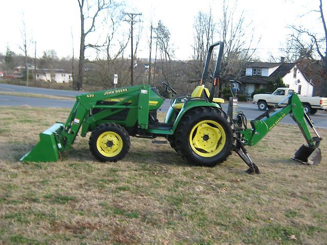 John Deere 4300 4x4 Loader Backhoe Tractor