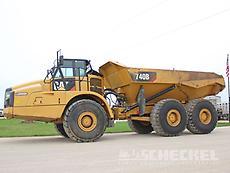 2015 Cat 740B, Haul Truck, A02966