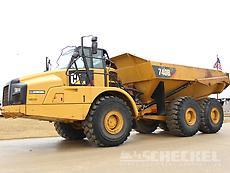 2016 Cat 740B, Haul Truck, A02787
