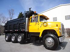 FORD L9000 TRI-AXLE DUMP TRUCK STEEL BED 3406B CAT WITH JAKE