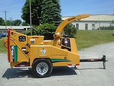 2009 VERMEER BC1000XL WOOD CHIPPER / BRUSH CUTTER FORESTRY ARBORIST