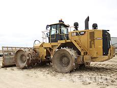 2015 Cat 836K, Waste Compactor, A02876