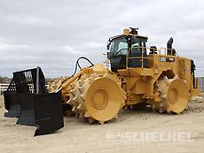 2015 Cat 836K Waste Compactor, A02844