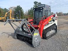 2013 Takeuchi TL12 Skid Steer Forestry Mulcher
