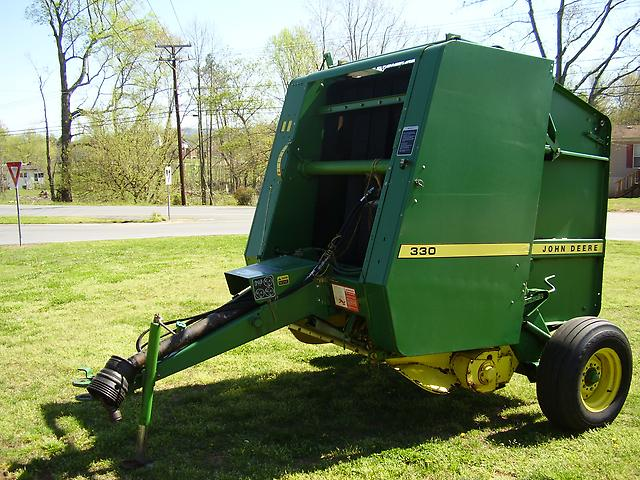 John deere 330 Baler manual