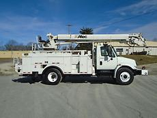 2007 INTERNATIONAL 4300 ALTEC DM47BR DIGGER DERRICK TRUCK