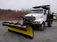 2002 STERLING L8500 SNOW PLOW/DUMP TRUCK
