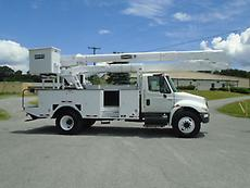 2005 INTERNATIONAL 4300 HI-RANGER 55' BUCKET/BOOM SERVICE TRUCK