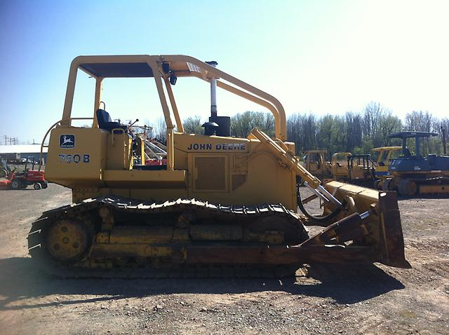 Deere 750b Dozer manual