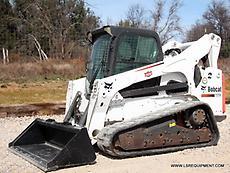 2014 BOBCAT T870 SKID STEER- TRACK SKID STEER- SKID LOADER- BOBCAT- CAT- 24 PICS