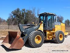 2012 JOHN DEERE 624K WHEEL LOADER- LOADER- PAY LOADER- DEERE- CAT- 27 PICS