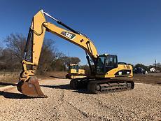 2009 Caterpillar 329DL Excavator Track Hoe