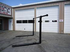 HEAVY DUTY 6 FT 72 INCH 3 INCH PIN HANGING TYPE LOADER FORKS EQUIPMENT FORKLIFT