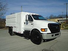 2005 FORD F-650 CHIPPER DUMP TRUCK FORESTRY ARBORIST (LOW MILES)