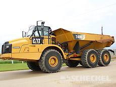2011 Cat 740B, Haul Truck, A02790
