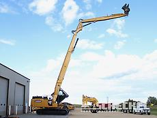 2017 Cat 349FL, Custom, Ultra High Reach Demolition Excavator, A02763