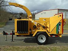 2010 VERMEER BC1000XL WOOD CHIPPER/ BRUSH CHIPPER FORESTRY ARBORIST