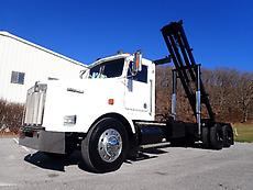 KENWORTH T800 TANDEM AXLE ROLLOFF ROLL OFF HOOK CABLE LIFT CONTAINER BOX TRUCK
