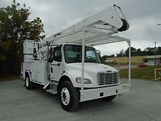 2004 FREIGHTLINER M2 AUTOMATIC LIFT-ALL 55' BOOM/BUCKET MATERIAL HANDLER TRUCK
