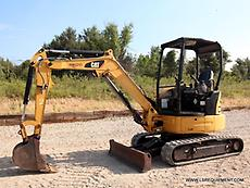 2015 CATERPILLAR 303E CR MINI EXCAVATOR- EXCAVATOR- LOADER- CAT- DEERE-28 PICS