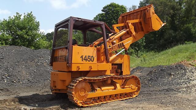 Case Loader 1450 4 in 1 Bucket Dozer 504BDT Turbo Diesel Engine