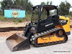2011 JCB 260T SKID STEER- SKID LOADER- LOADER- RUBBER TRACK - CAT- 30 PICS