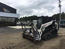 2014 Terex PT110F Mulcher Skid Steer