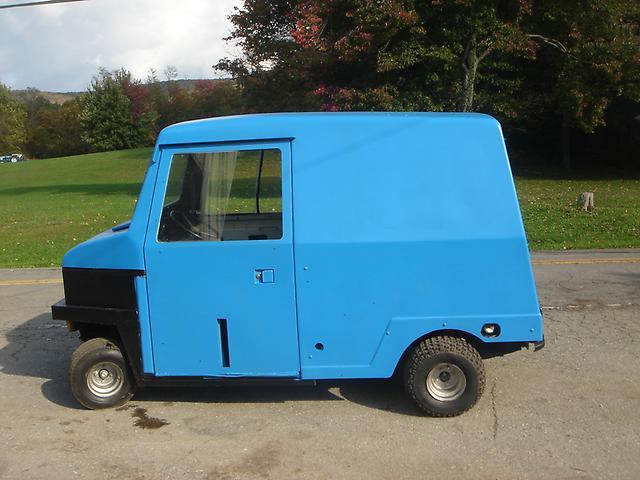 cushman truckster 4 wheel omc cab heat truck van twin cylinder engine