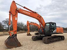2013 Hitachi ZX250LC-5 Hydraulic Excavator