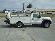 2008 FORD F-450 ALTEC AT200A BOOM/BUCKET SERVICE TRUCK