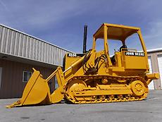 JOHN DEERE 455G CRAWLER FRONT END TRACK LOADER WITH RIPPER